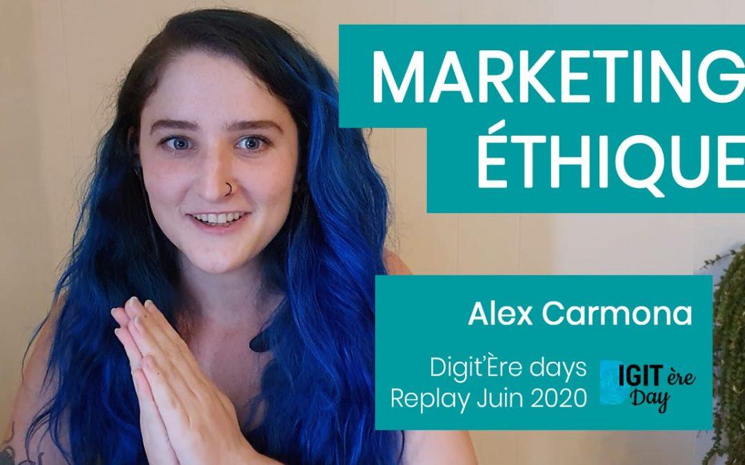 Marketing Éthique : C'est quoi, comment on fait ? – Conférence 2020