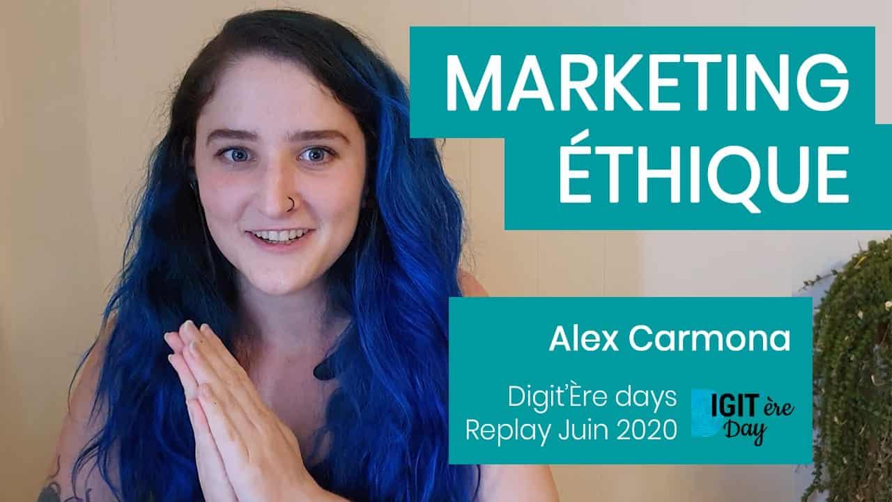 Conférence webmarketing ethique video marketing