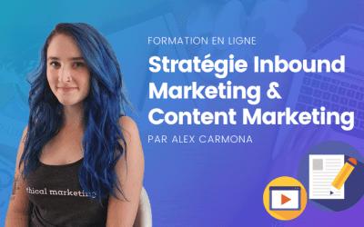 Inbound Marketing : Créer sa Stratégie de Contenu – Formation en ligne